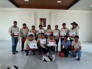 Neo-apicoltori con certificato partecipazione al corso