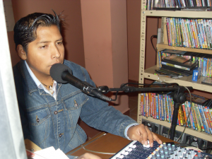 Comunicatore radiofonico Radio Lachiwana